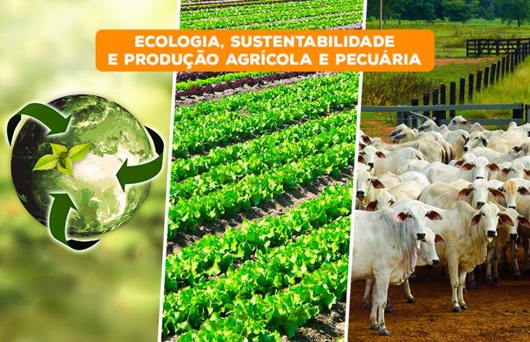 Ecologia, Sustentabilidade e Produção Agrícola e Pecuária