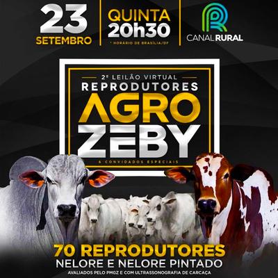 2º Leilão Virtual Reprodutores Agro Zeby